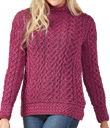 Heart Knot Sweater