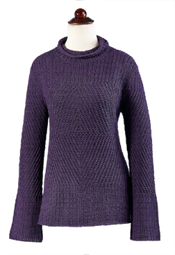 Organic Cotton Roll-Neck Tunic