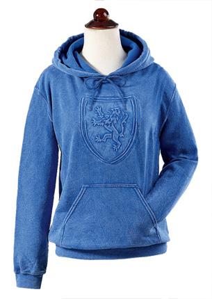Blue Lion Rampant Hooded Sweatshirt
