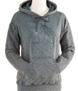 Grey Trinity Knot Hooded Sweatshirt