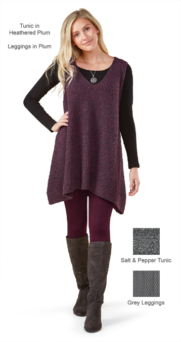 Heathered Tunic & Leggings
