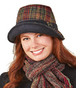Autumn Plaid Hat & Bag