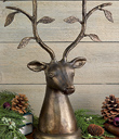 Stag with Leafy Antlers