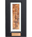 Sonas Copper Ogham Plaque