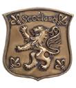 Bronze Rampant Lion Plaque
