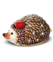 Hedgehog and Ladybug Trinket Box