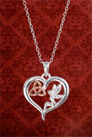 Fairy Trinity Knot Pendant