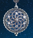 Crystal Dome Magnifier Pendant