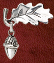 Oak Leaf and Acorn Pin