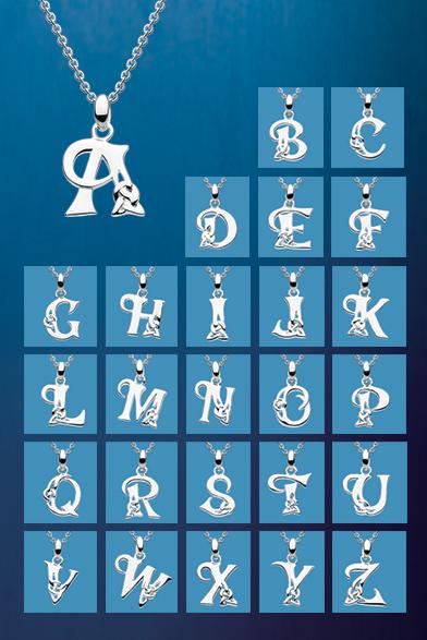 Celtic Initials Pendant