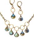 Circles and Labradorite Jewelry