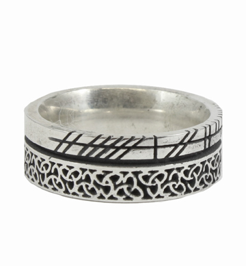 Ogham Knotwork Ring