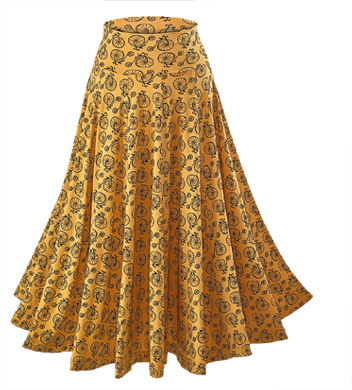 Penny-farthing Circle Skirt