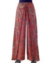 Wrap-Panel Pants
