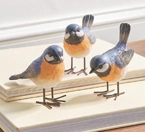 Trio of Bluebirds