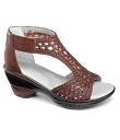 Artisan Woven Leather Sandals