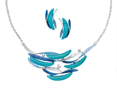 Blue Waves Jewelry