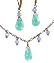 Aqua & Periwinkle Jewelry