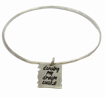 Book of Life Bangle Bracelet
