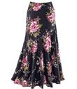 Midnight Blossoms Skirt