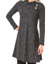 Heathered Charcoal Tunic