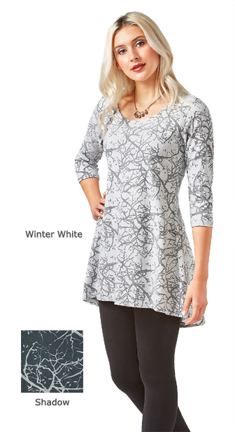 Winter Branches Tunic