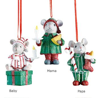 Christmas Mouse Ornament