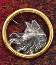 Wolf Spirit Pin