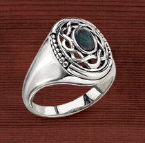 Open Knotwork Ring
