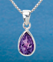 Faceted Amethyst Jewelry