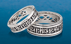 Love Conquers All Runic Ring