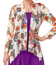 Bright Flowers Mesh Jacket