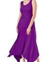 Purple Swirl Dress