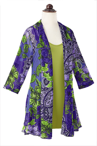 Exotic Garden Mesh Jacket