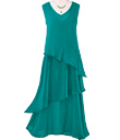Emerald Tiered Maxi Dress