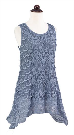 Art Deco Lace Tunic