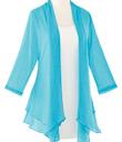 Turquoise Mesh Jacket