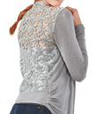 Lacy Daisy Sweater