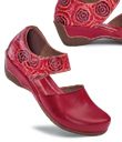 Ruby Red Mary Janes
