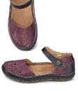 Deep Purple Mary Janes