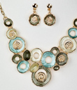Spiral Journey Necklet and Earrings Set