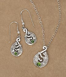 9th Century Cat Jewelry