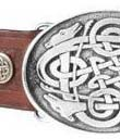 Celtic Hounds Buckle & Belt