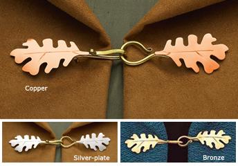 Oak Leaf Cloak Clasp