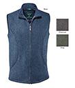 Men's Tweed Zippered Vest