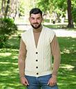 Irish Wool Waistcoat with Pockets
