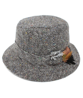 Walking Hat with Feather