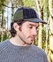Patchwork Tweed Ball Cap