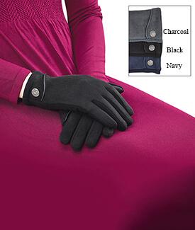 Celtic Button Gloves
