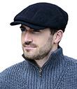 Irish Tweed Black Cap